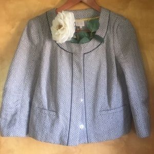 Anthropologie cropped jacket
